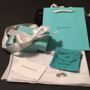 Return to Tiffany double heart necklace